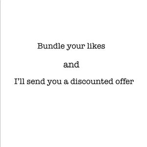 Bundle discounts - Offers welcome!
